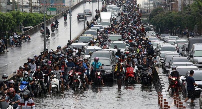bangkok en haar overstromingen
