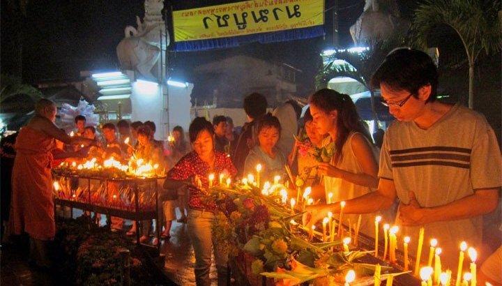 Geen alcohol op Visakha Bucha dag in Thailand
