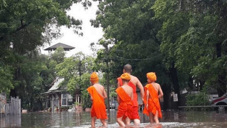 Overstromingen teisteren delen van Thailand