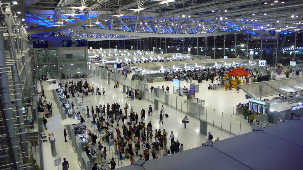 Suvarnabhumi Airport tussen de slechtste vliegvelden ter wereld