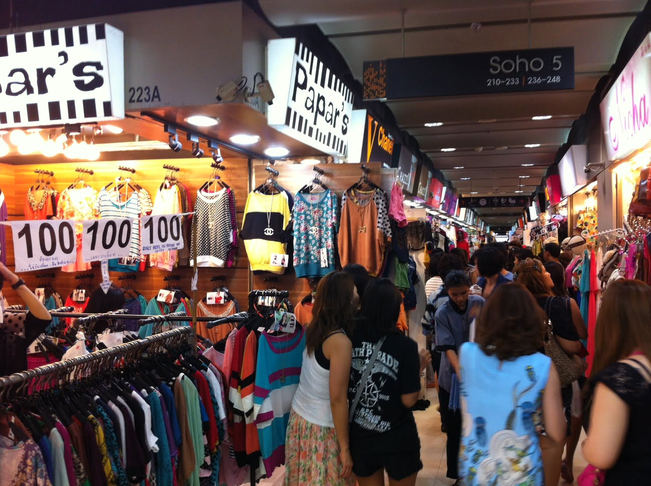 Beste shopping malls in Bangkok
