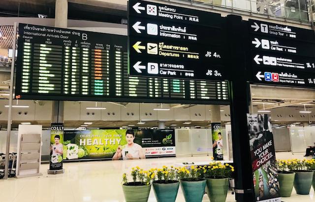 Grote drukte op vliegvelden in Bangkok komende week