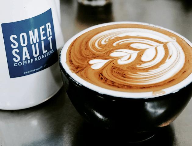 koffie drinken in bangkok