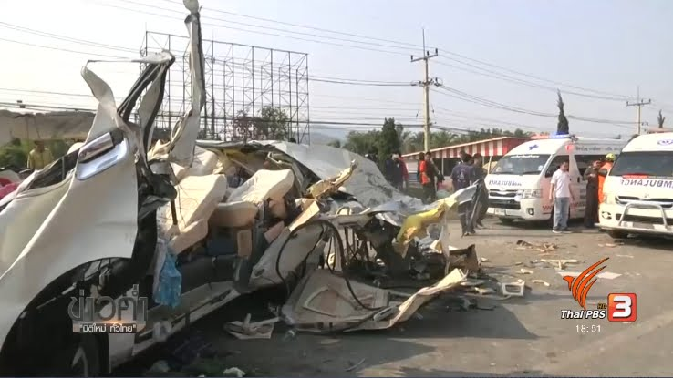 verkeersdoden in thailand