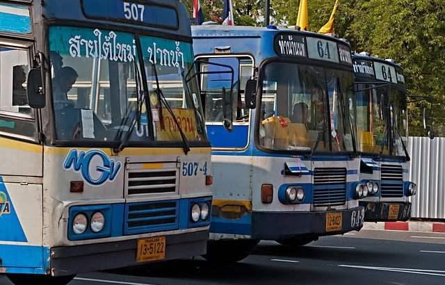 Is reizen met de bus in Thailand veilig?