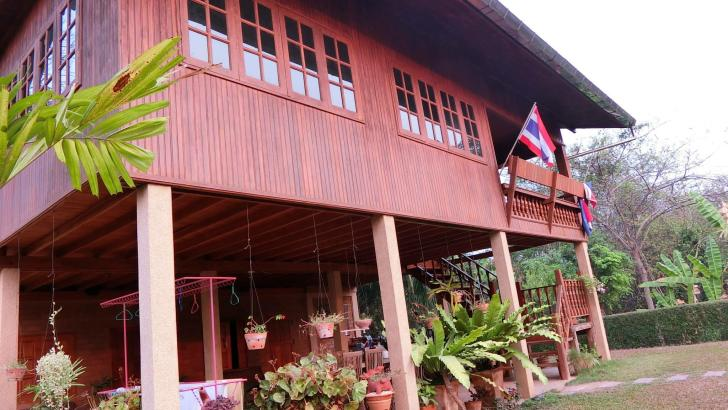 Red Brick, unieke accommodatie in laid back Phrae