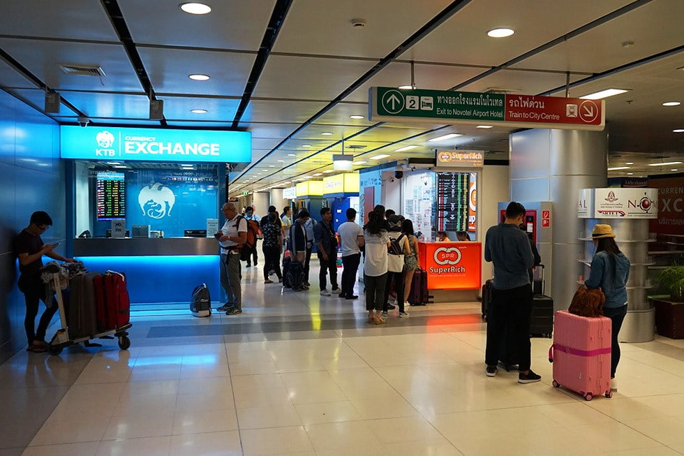 tips op suvarnabhumi airport