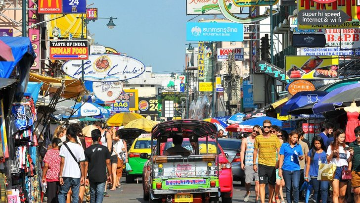 Toch weer straatverkopers op Khao San Road