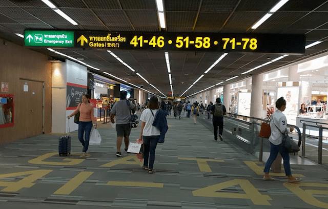 vliegen vanaf don mueang airport