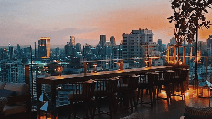 Spectrum Lounge & Bar: nieuwste rooftop bar in Bangkok