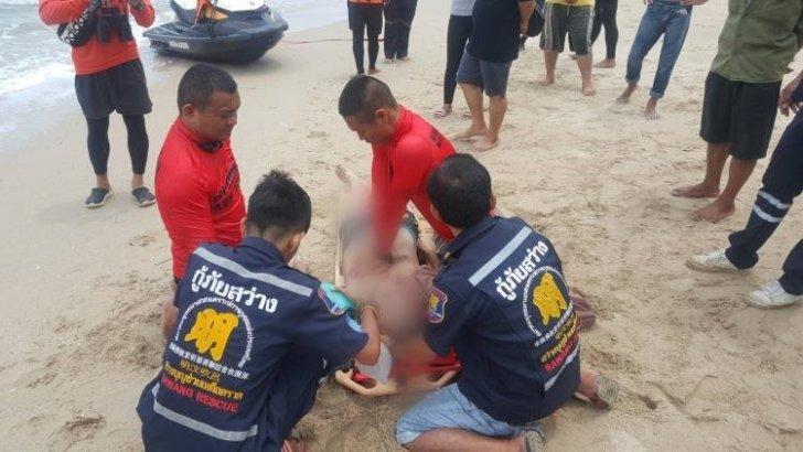 Rode vlag op het strand? Ga dan niet het water in!