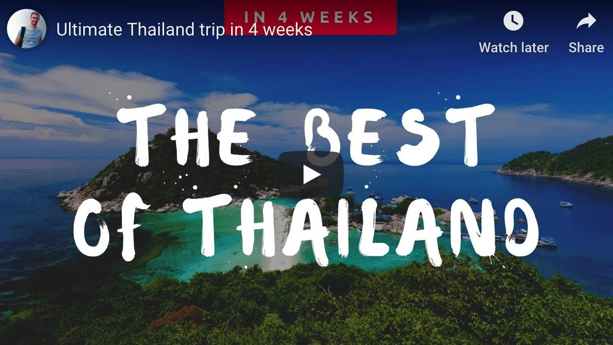 Ultieme Thailand Trip