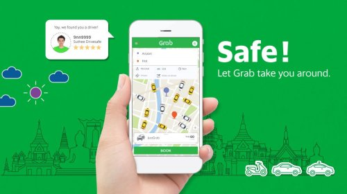 grab taxi in thailand