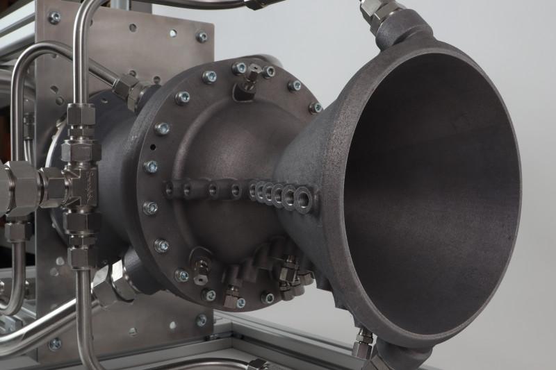 Additively manufactured rocket nozzle