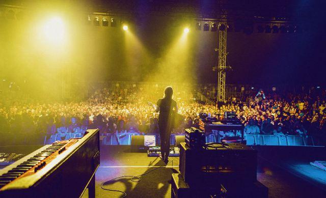 Steven Wilson auf der Bühne