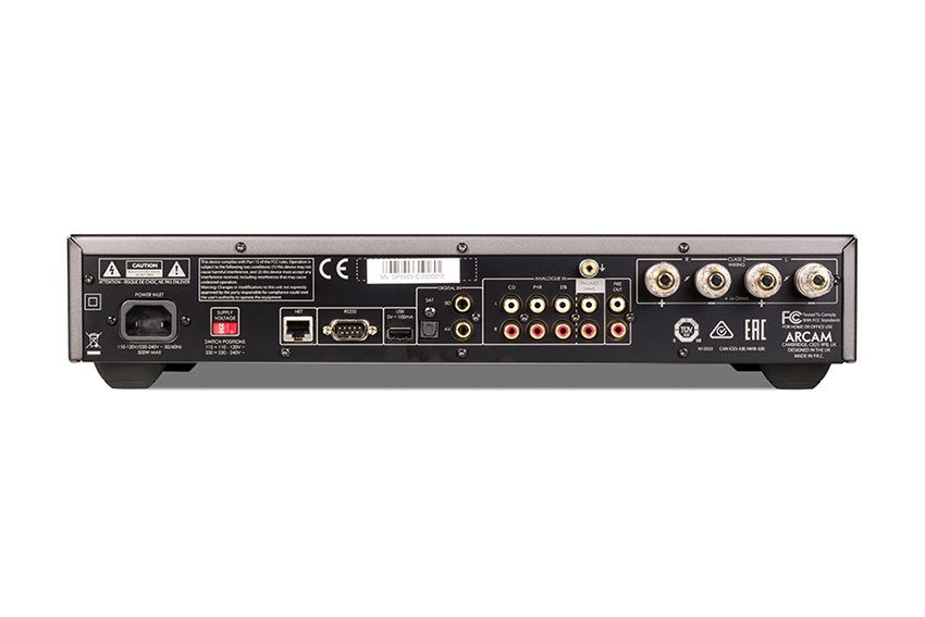 Arcam SA20 Integrated Amplifier Review 07