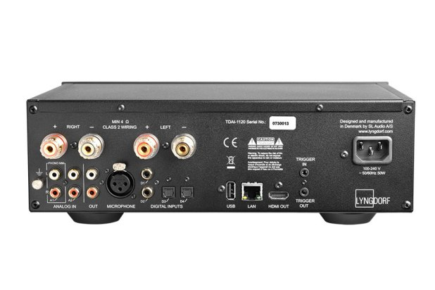 Lyngdorf TDAI 1120 2 Channel Streaming Amplifier 06