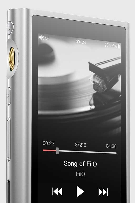 FiiO M9 High Resolution Lossless Music Player Silver 03