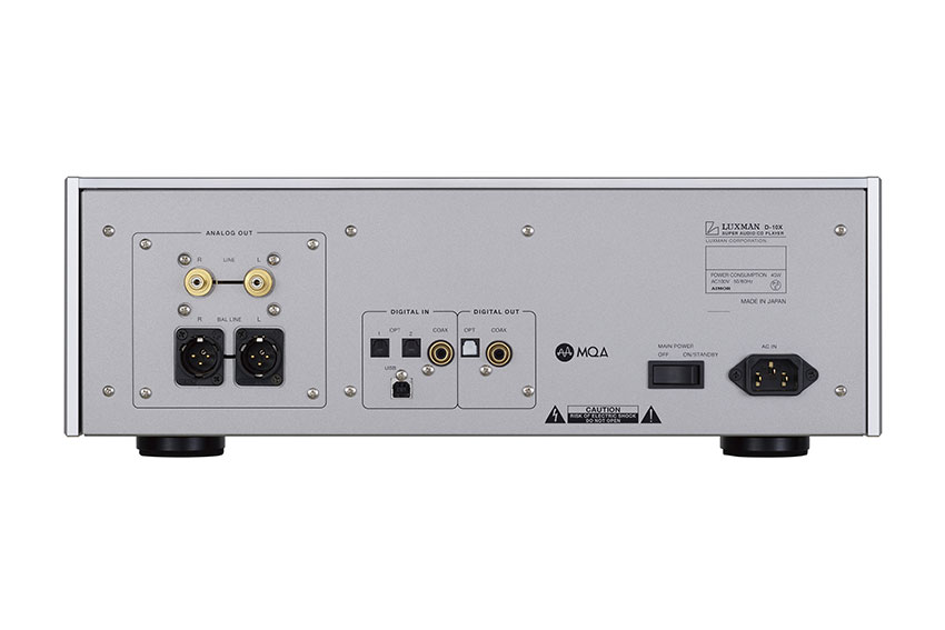 Luxman D 10X Super Audio CD Player 05