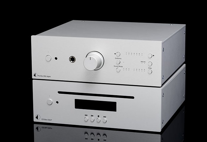 Pro-Ject CD Box DS2 T and Pro-Ject DAC Box DS2 Ultra