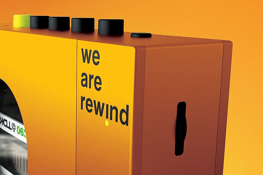 We are rewind Portable Cassette Player 01