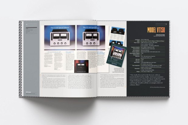 Audio Research Making the music glow 50th Anniversary Book 04