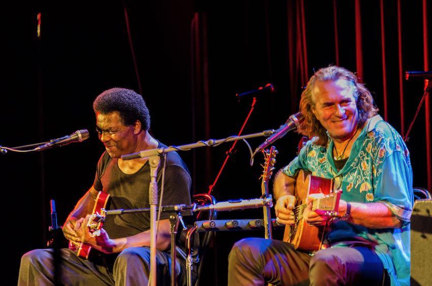 Hans Theesink und Terry Evans Metropol November 2012 22