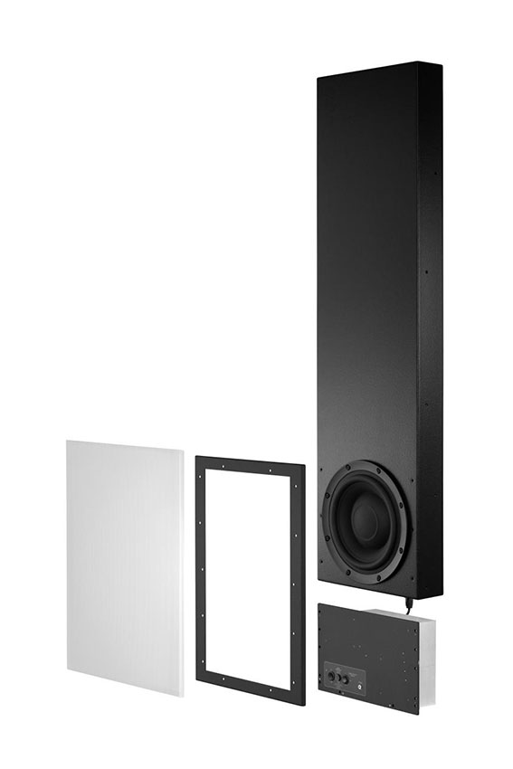 Meridian DSW600 In wall Digital Active Subwoofer 01
