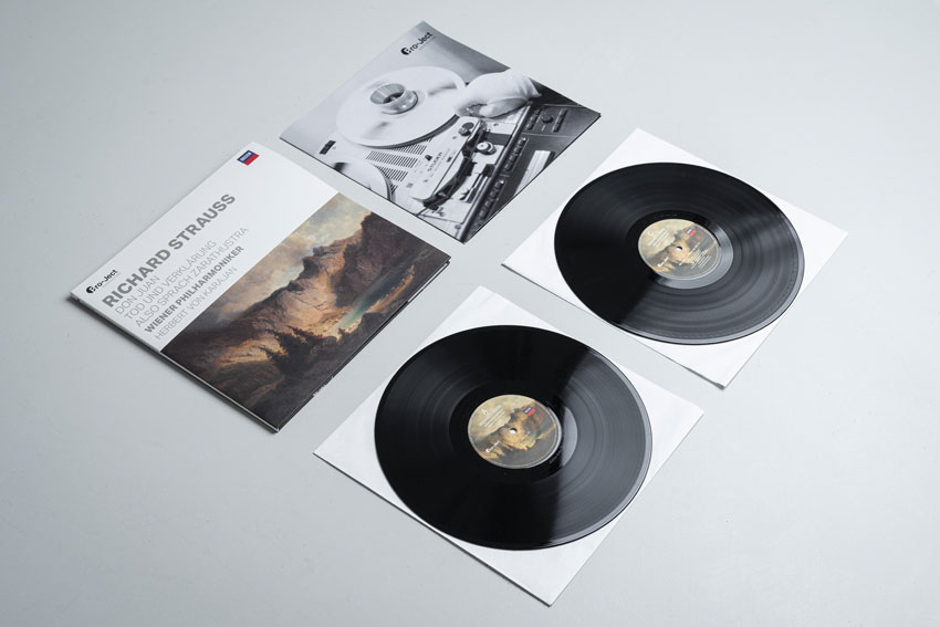 ProJect Records Vinyl Wiener Philharmoniker Herbert von Karajan Richard Strauss 01