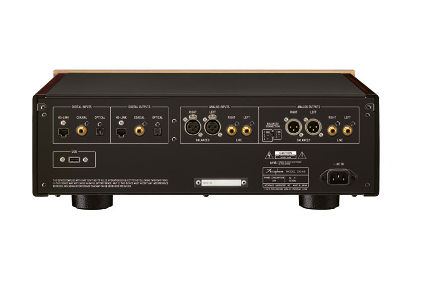 Accuphase DG 68 Digital Voice Equalizer 08