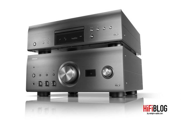 Denon PMA A110 Integrated Amplifier and Denon DCD A110 SACD Player 1