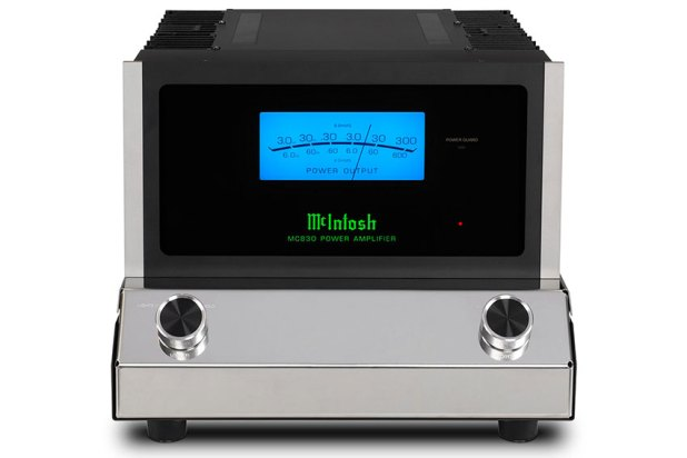 McIntosh MC830 1 Channel Solid State Amplifier 07