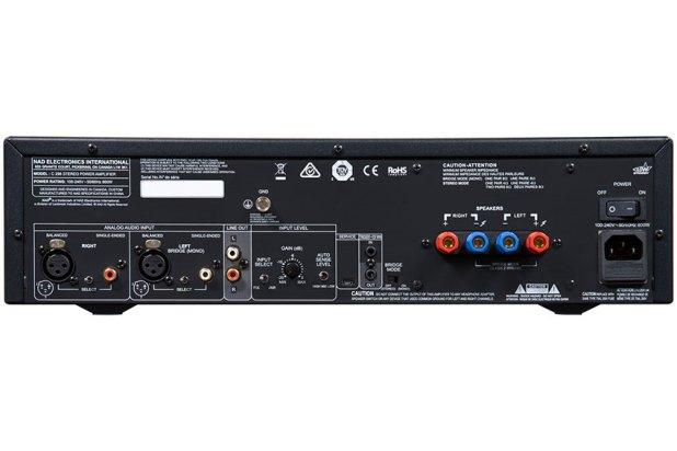 NAD C 298 Power Amplifier 03