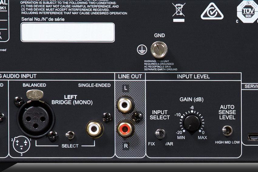 NAD C 298 Power Amplifier 10