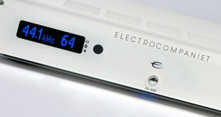 Electrocompaniet ECI 80D Integrated Amplifier now also in White Silver