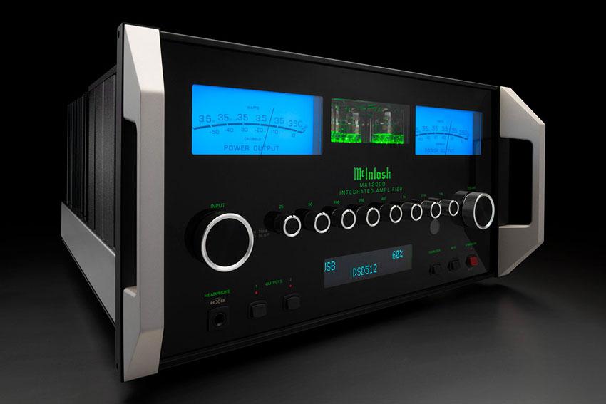 McIntosh MA12000 2 Channel Hybrid Integrated Amplifier 02