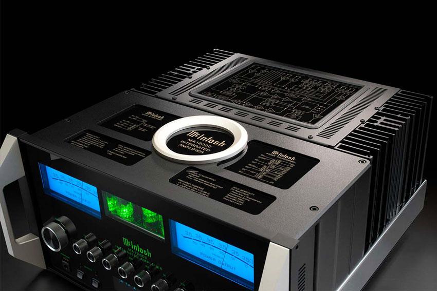 McIntosh MA12000 2 Channel Hybrid Integrated Amplifier 03