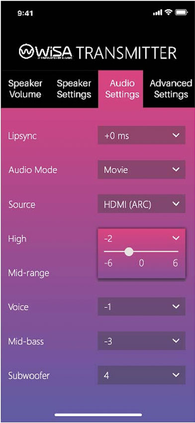 WiSA SoundSend Home Cinema Audio Transmitter 07