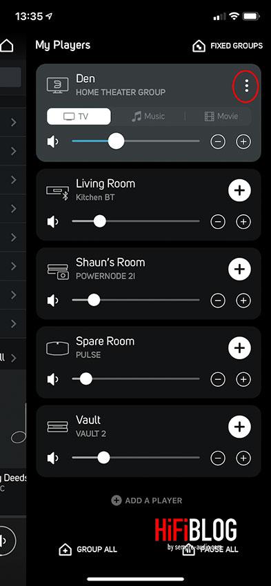 Bluesound Stereo Surround Modus 05