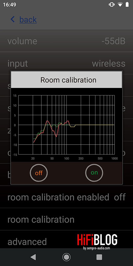 Nubert XRC Android Interface 07