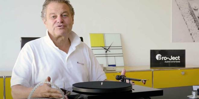 Pro-Ject Audio Systems – Heinz Lichtenegger shares upgrade tips