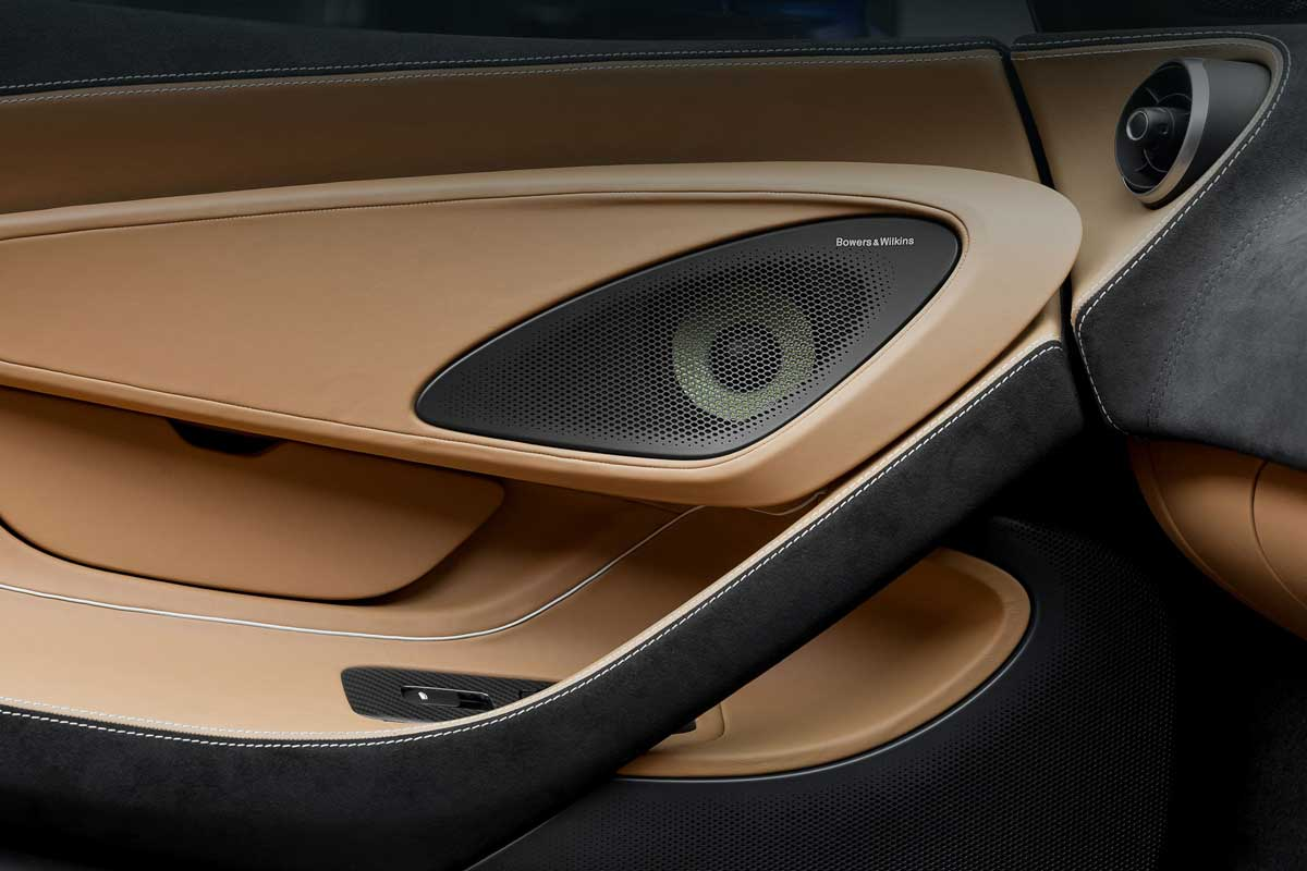 Bowers Wilkins McLaren Automotive Solutions 01