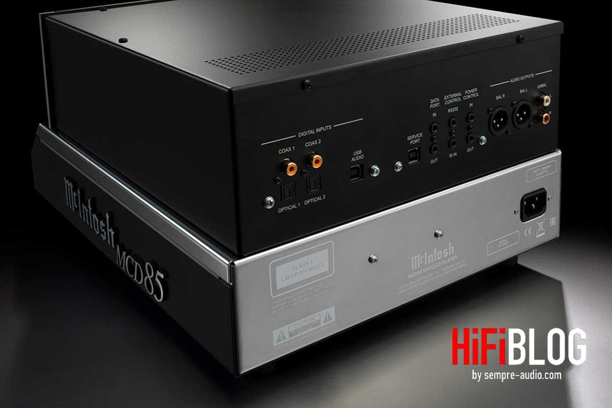 McIntosh MCD85 2 Channel SACD CD Player 05