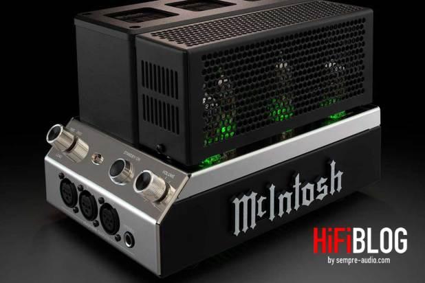 McIntosh MHA200 2 Channel Vacuum Tube Headphone Amplifier 05