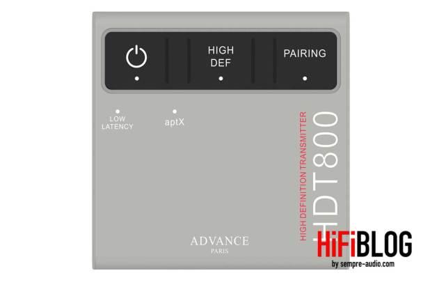Advance Paris HDT800 Transmitter 02