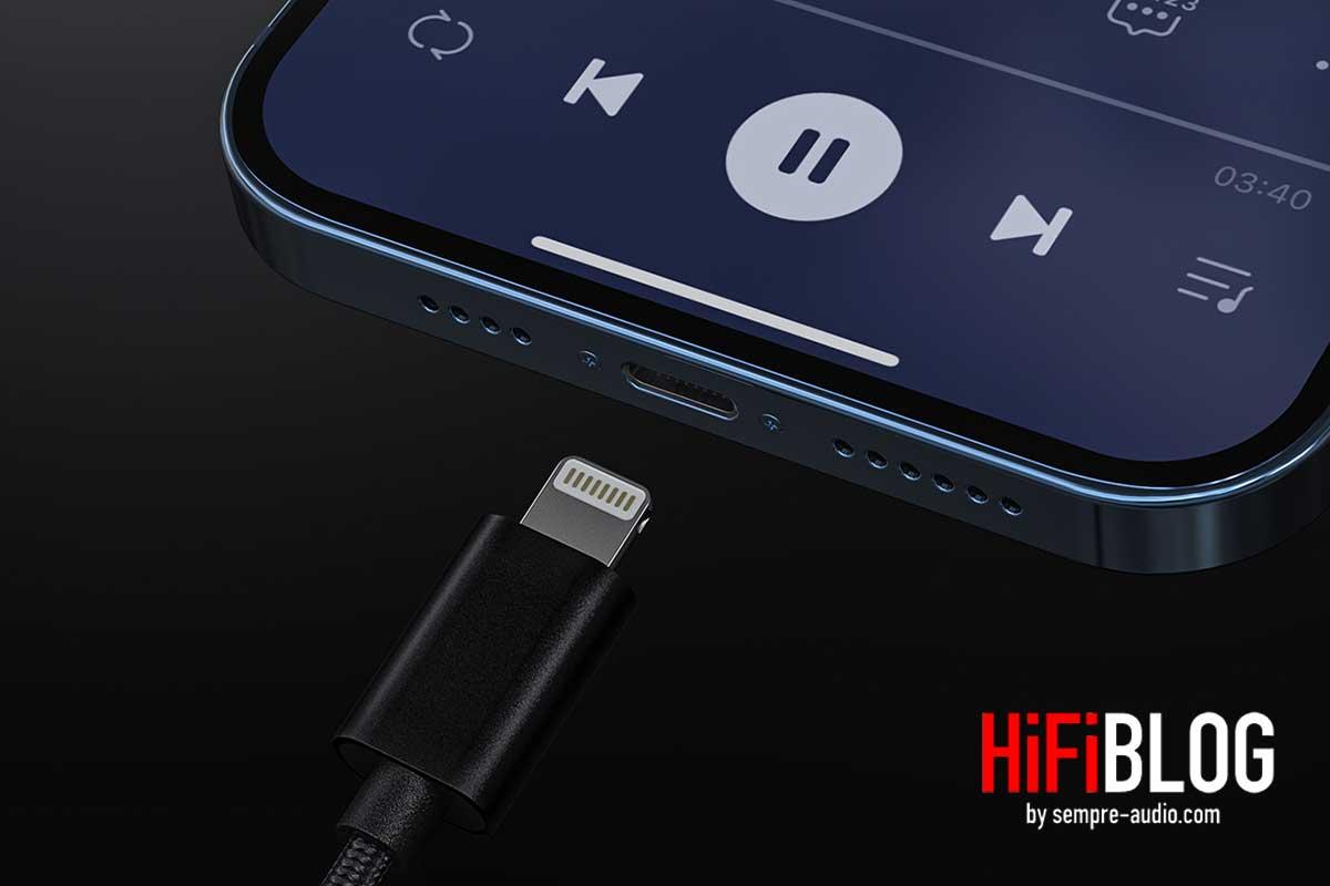 FiiO LT LT1 USB Type C to Lightning Data Cable 02