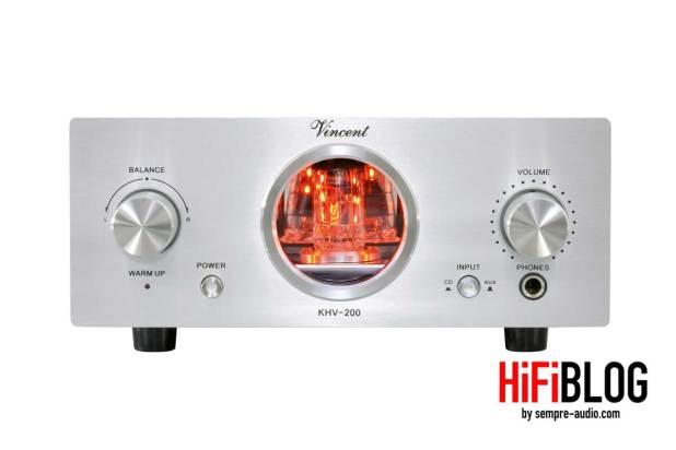 Vincent KHV 200 Hybrid Headphone Amplifier 01