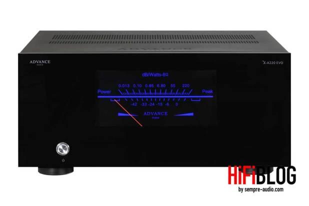 Advance Paris X A220 EVO HiFi Mono Power Amplifier 01