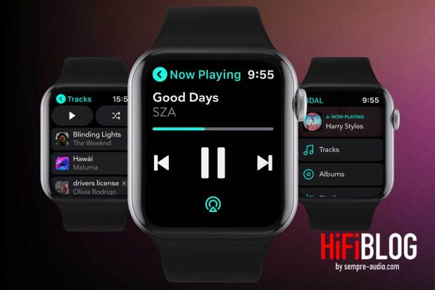 TIDAL App for Apple Watch Featured 02