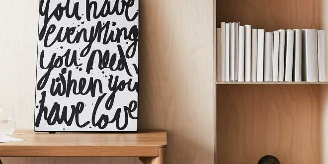 Ikea SYMFONISK Frame with WiFi Speaker